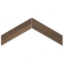 Sleek Wood Nut Chevron gres mat. 11x54 Gat. 1