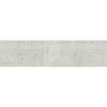 Newstone Light Grey Steptread gres stopnica 29,8x119,8 gat. 1