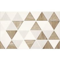 Arezzo Inserto Triangle dekor 25x40 gat. 1