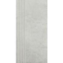 Scratch Bianco Stopnica Mat. 29,8x59,8 Gat.1