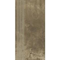 Scratch Brown Stopnica Mat. 29,8x59,8 Gat.1