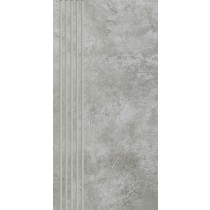 Scratch Grys Stopnica Prosta Mat. 29,8x59,8 Gat.1