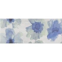Akwi Grey Inserto Flower dekor 20x50 Gat 1