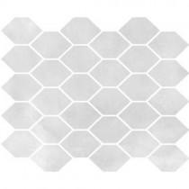 Aquamarina Mozaika M-H-AQM 12 j. szary heksagon Poler 27X32 GAT.1
