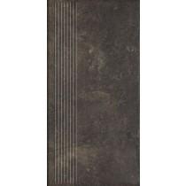 Scandiano Brown Stopnica Prosta 30x60 Gat. 1