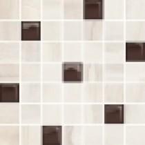 SIMPLE STONE BEIGE GLASS MOSAIC 25X24,86
