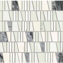 Drops Stone White Mozaika 30x30 Gat.1