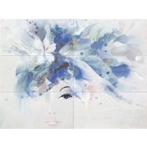 Visage Woman Dekor 6-elem. 89,8x67,3 Gat 1