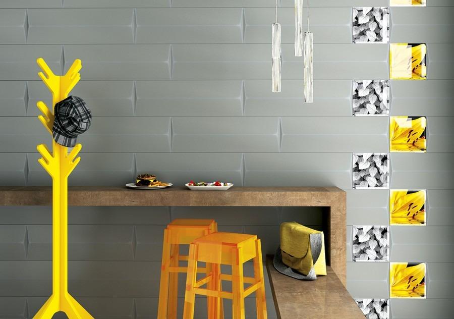 Paradyż My Way Uniwersalne Murano Bianco A Inserto Szklane 25x75 G1