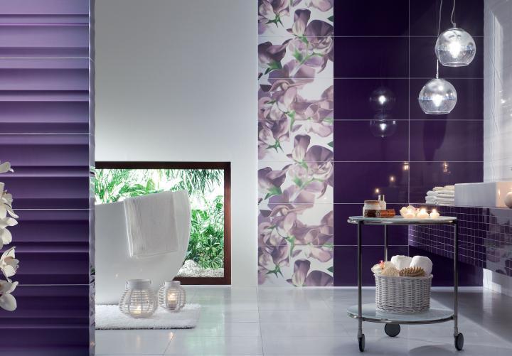 Colour Violet Tubądzin